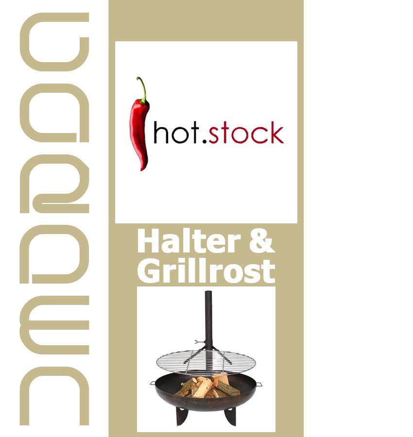 grillrost 40cm oder 60cm mit halterung f r feuerschale feuerkorb grill klemme ebay. Black Bedroom Furniture Sets. Home Design Ideas